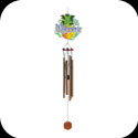 Windchimes-WCH503-Pineapple/Welcome - Pineapple/Welcome