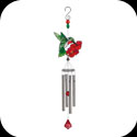 Windchime-WCSSM004-Hummingbird & Flowers - Hummingbird & Flowers