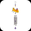 Windchime-WCSSM010-Cat with Butterfly - Cat with Butterfly